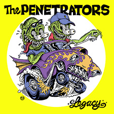 THE PENETRATORS - LEGACY - CD01 2017 Fred Records Release