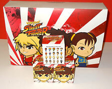 KIDROBOT STREET FIGHTER S1 VINYL MINI FIGURE BLIND MYSTERY BOX 20 PACKS FACTORY