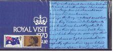 Australia 1970 ROYAL VISIT Set (2) SG 456-7 in original Sealed PO Pack