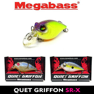 Megabass QUIET GRIFFON SR-X FLOATING JAPAN FISHING CRANKBAIT MORE COLORS 45 MM