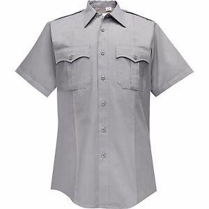 Flying Cross Women's Gray Police Short Sleeve Command Shirt: 42 REG, 176R7881