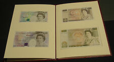 1992 GB 5, 10, 20 and 50 pound notes, matching serials, Kentfield signature.