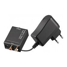 Audio Converter Analog to Digital 2x RCA to Coax/Toslink Convertitore digitale