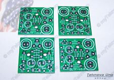 4x PCB ONLY for the Dual JUMBO LED Adjustable Flasher KIT Transistorized - USA