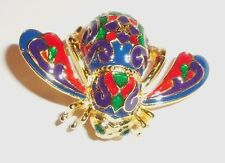 Joan Rivers Classics Collection Retired Enameled Imperial Bee Pin