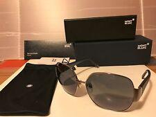 New Mont Blanc - MB315 14B - Sunglasses, Ruthenium / Grey Gradient Lens