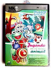 Muppet Babies Jugando En El Reino Animal PAL/SPA PC Retro Videojuego Precintado