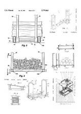 Brennholz, Kaminholz, Feuerholz-Regal, Aufbewahrung