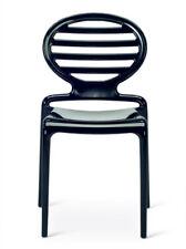 DUE sedie Scab modello Cokka policarbonato nero