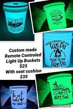light up camping buckets