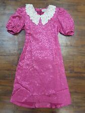 Vintage HANAE MORI New York  Dress , Pink Dress