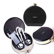 Kit custodia lenti contatto cover porta lentine+specchietto+pinzetta+applicatore
