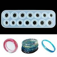 UV Epoxy Resin Mould Silicone Ring Mold Molds Jewelry Making Tool
