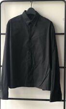100% Authentic JIL SANDER Men Collar Shirts Black size 38