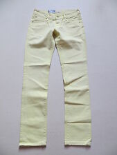 Levi's® 571 Slim Fit Jeans Hose, W 29 /L 34, gelb, NEU ! Yellow coloured Denim !