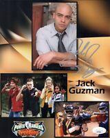 JACK GUZMAN Signed POWER RANGERS Wild Force 8x10 Photo Autograph JSA COA Cert
