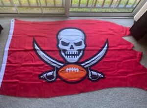 BRAND NEW Tampa Bay Buccaneers Official NFL 3X5 Team Flag (SUPER BOWL LV)