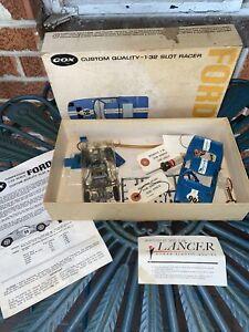 Vintage Cox Ford GT 1:32 Scale 313 Slot Racer Car