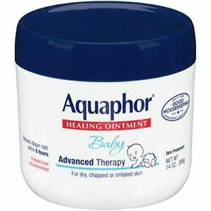 Baby Healing Ointment Advance Therapy for  Chapped Cheeks and s - 14 Oz Jar