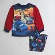 NWT-Boys Disney Cars Lightning McQueen 2 Pc Long Sleeve Winter Pajamas- 12 mths