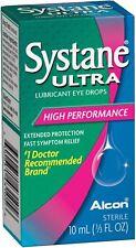 Systane Ultra Lubricant Eye Drops  10 ml 0.3 oz New/Sealed