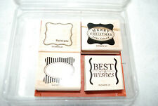 Stampin Up * Retired *Cute & Curly- Pre-Owned -