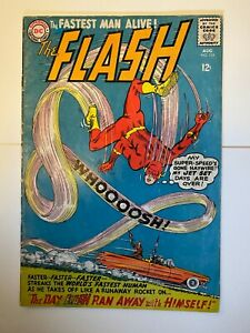 Flash #154 The Fastest Man Alive! Silver Age DC