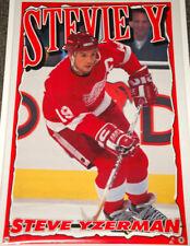 Steve Yzerman STEVIE Y (1995) Detroit Red Wings POSTER (Norman James Corp.)