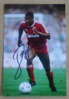 John Barnes Signed 6x4 Photo Liverpool England Watford Autograph Memorabilia+COA