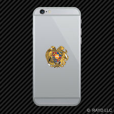 Armenian Coat of Arms Cell Phone Sticker Mobile Armenia flag ARM AM