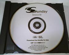 SUNDAY self-titled debut cd 2000 Capitol **OFFICIAL** (WHITNEY HOUSTON)s/t promo