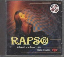 Rapso-A brand new Dance Craze from Trinidad Nas.Tex, Kindred, Blak Mayl, .. [CD]