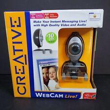 Creative Labs /  Webcam Live! / 1024 x 768 snapshot resolution / 640 x 480 video
