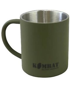 Kombat Army Stainless Steel Mug (Olive Green) hunt shoot camp