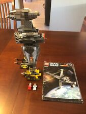 LEGO Star Wars B-Wing Fighter (6208) With All Figs