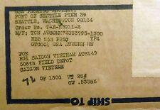 VTG NIB 25000 STEEL CITY Gem Paper Clips I & M Sufrin USA US Military Vietnam