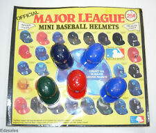 Vintage Gumball Vending Machine Baseball Helmets Charms Header Display Card