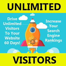 Unlimited Website Visitors For 60 Days Only $20
