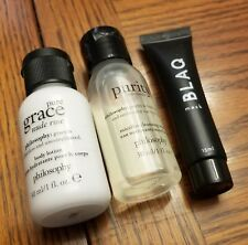 LOT Philosophy Pure Grace Body Lotion Purity Micellar Cleansing Water Blaq Mask