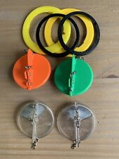4 luhr jensen dipsy divers With Rings