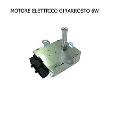 GIRARROSTO 6 W  MOTORE  ELETTRICO 220 V PER BARBECUE CAMINETTO STUFA CUCINA