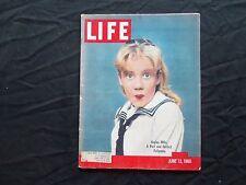 1960 JUNE 13 LIFE MAGAZINE - HAYLEY MILLS - L 1210