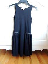 Ragdoll & Rockets girls black jersey sleeveless dress size 14