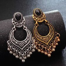 Wholesale Boho Retro Gold/Silver Tassel Drop Dangle Earrings Women Jewelry Gift