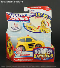 Bumper Battlers BUMBLEBEE Transformers Animated 2008 Hasbro New