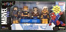 Minimates Marvel Universe Ultimate X-Men Set, Wolverine Cyclops Storm Logan