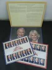 Malaysia Royal Visit Prince Of Wales & Duchess Of Cornwall 2017 (sheetlet) MNH