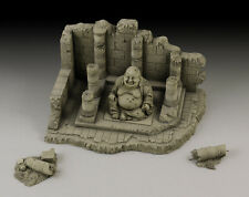 ROYAL MODEL 1/35 -TEMPLE WITH BUDDHA RUIN-ART.016