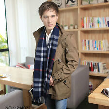Hot Sale Top Grade Wool Mens Scarf 100% Wool Scarf Business and Casual Scarf