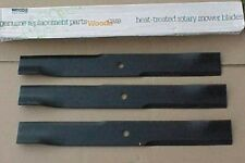WOODS RM372 RM660 FINISH MOWER BLADE KIT  SET of 3 BLADES 18884KT OEM WOODS